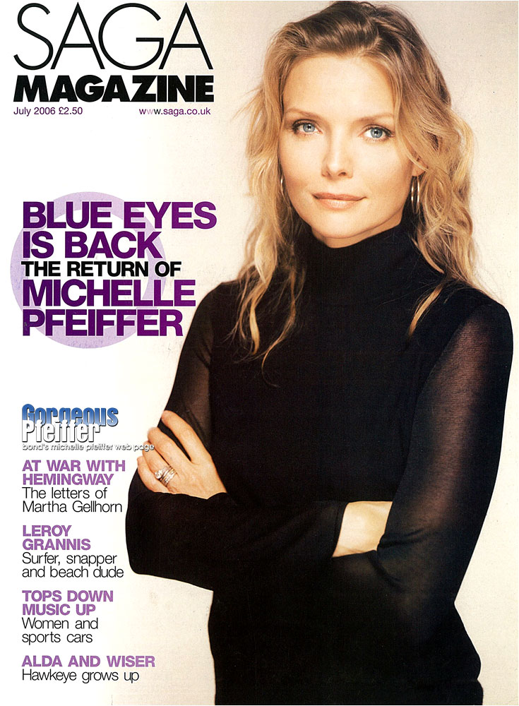 Michelle Pfeiffer 1990 Michelle Pfeiffer July