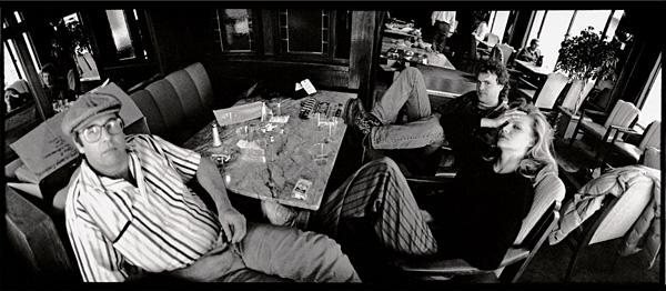 SNAP CHAT Beau Bridges, director Steve Kloves, and Pfeiffer