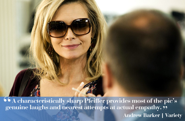 "Michelle Pfeiffer in ""The Family"""