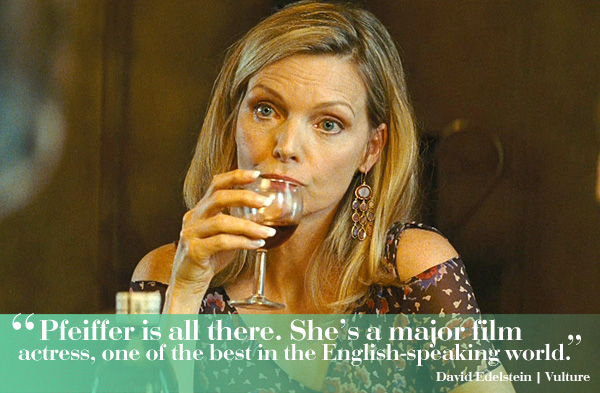 """Michelle Pfeiffer in """"The Family"""""""