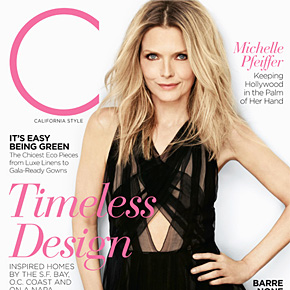 Michelle Pfeiffer Keeping Hollywood in the Palm of Her Hand | April 2012