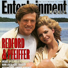 REDFORD & PFEIFFER Inside Up Close & Personal: How a Real-Life Tragedy became a Hollywood Romance | March 8, 1996
