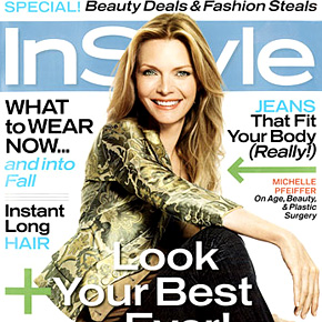 Michelle Pfeiffer On Age, Beauty and Plastic Surgery | August 2006