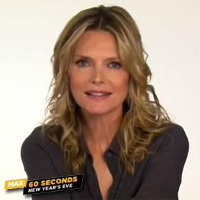 Max 60 Seconds with Michelle Pfeiffer!