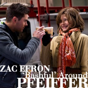 Zac Efron 'bashful' around Pfeiffer | December 3, 2011