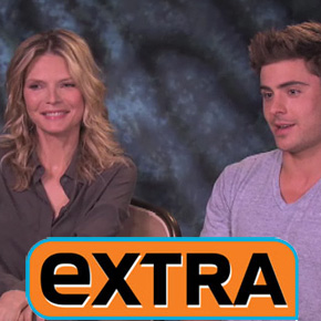 'New Year's Eve' 'Extra' Interview