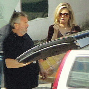 "Michelle Pfeiffer on the set of ""Malavita""!!! 