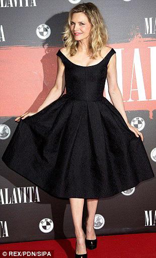 Michelle Pfeiffer in Dolce & Gabbana