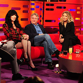 Michelle Pfeiffer on The Graham Norton Show! | October 25, 2013