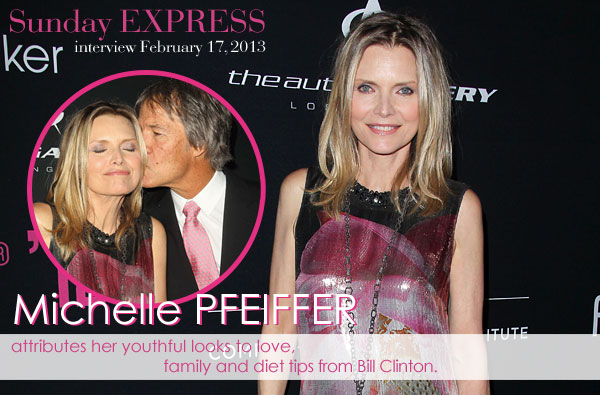 Michelle Pfeiffer is still fabulous at 54
