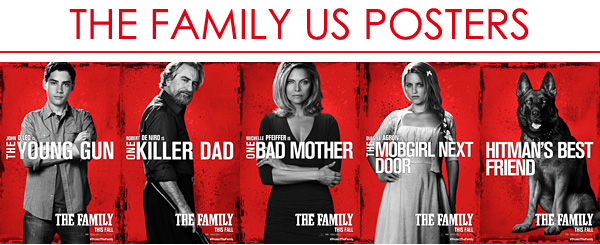 """""""The FAMILY"""" US Posters"""