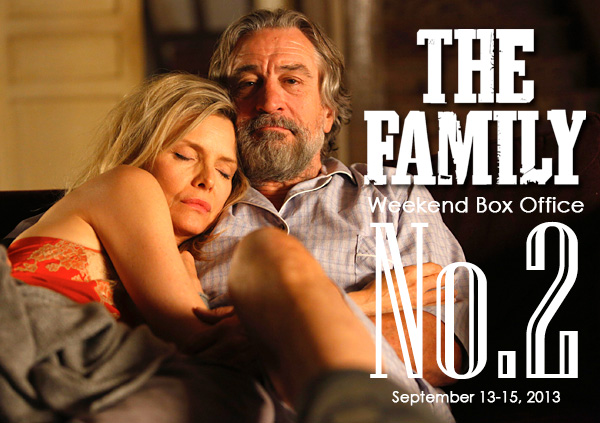 "Michelle Pfeiffer & Robert De Niro in ""The Family"""