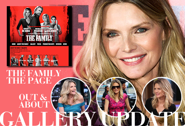 Michelle Pfeiffer new images updated!
