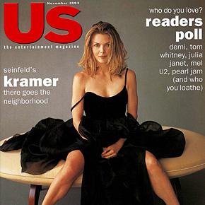 Michelle Pfeiffer bringing up baby | November 1993