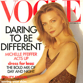 Daring To Be Different Michelle Pfeiffer Acts Up | October 1991