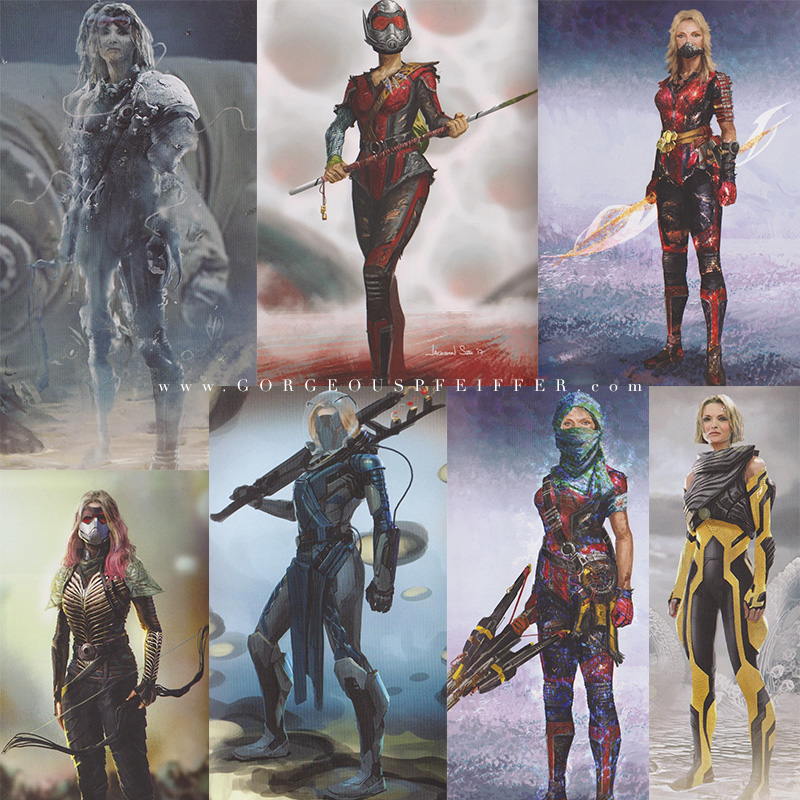 Concept Arts Of Michelle Pfeiffer S Janet Van Dyne