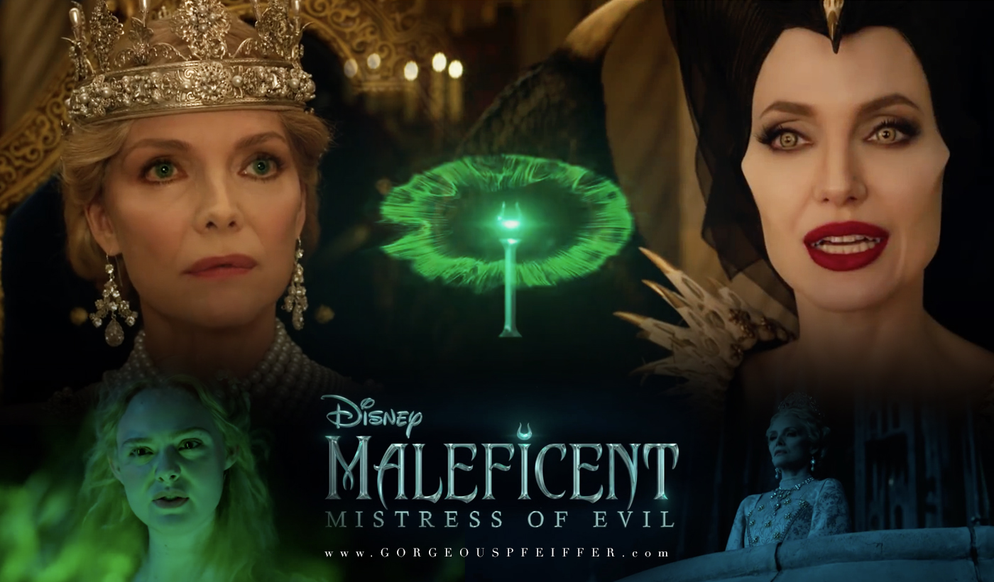 Maleficent 2 Teaser Trailer With Angelina Jolie Vs Michelle