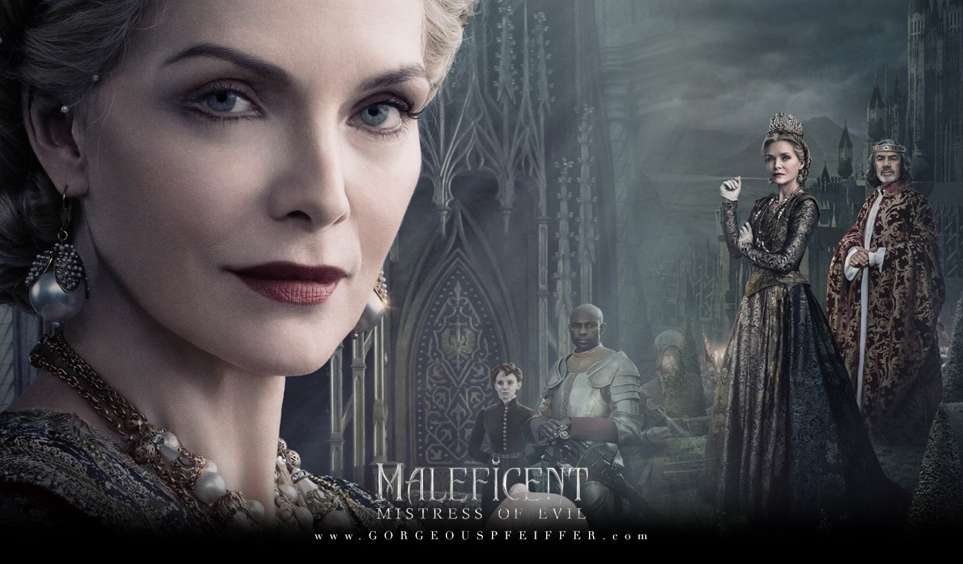 New Posters Images Of Michelle Pfeiffer In Maleficent