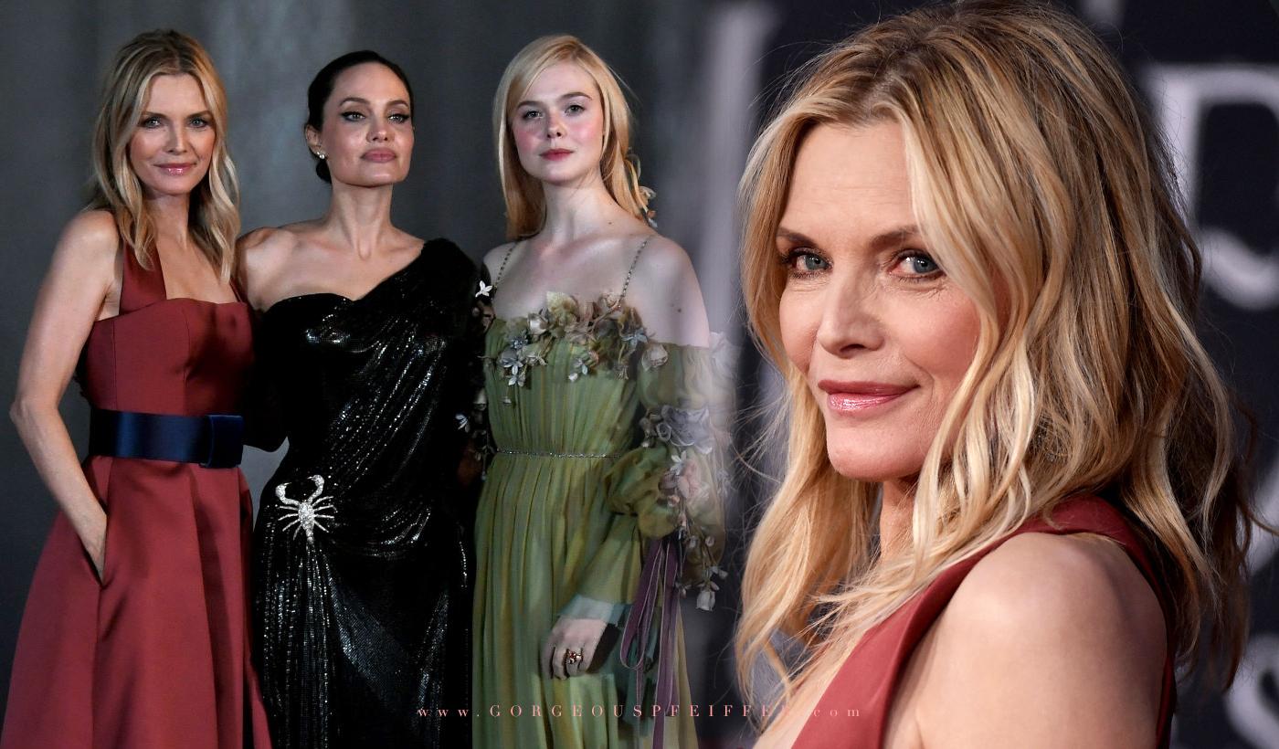 Michelle Pfeiffer Attends Maleficent Mistress Of Evil