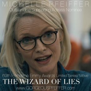 69th Emmy Awards Nominee - Michelle Pfeiffer in The Wizard of Lies | July 13, 2017