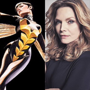 Michelle Pfeiffer joins Ant-Man and the Wasp as Janet Van Dyne! | July 23, 2017