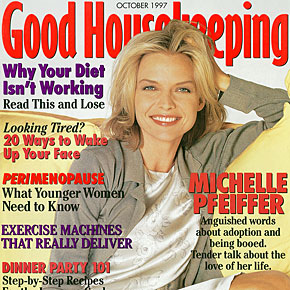 Anguished words about adoption and being booed. Tender talk about the love of her life | October 1997