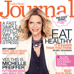 YES, THIS IS MICHELLE PFEIFFER | October 2013