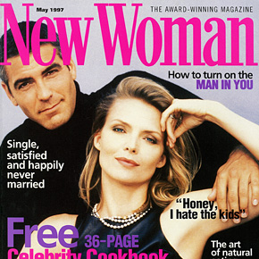 Pfeiffer and Clooney get close | May 1997