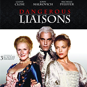 """""""Dangerous Liaisons"""" arrives in Blu-ray! But..."""