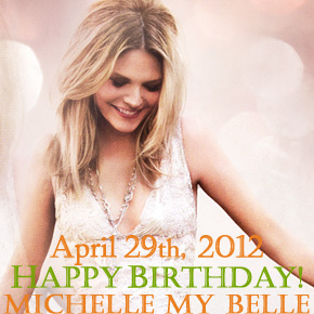 Happy Birthday Michelle!!!