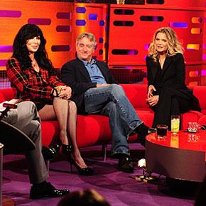 Michelle Pfeiffer on The Graham Norton Show! | October 25, 2013