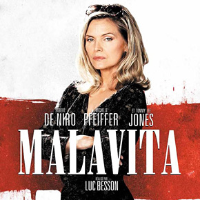 """Hot New Character Posters of """"MALAVITA/THE FAMILY"""" from France! 