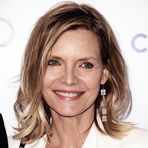 Michelle Pfeiffer & David at Television Academy Hall Of Fame   March 12, 2014