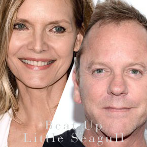Michelle Pfeiffer, Kiefer Sutherland to Star in 'Beat-Up Little Seagull' | October 28, 2015